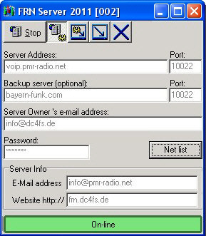 Download des FRN-Servers